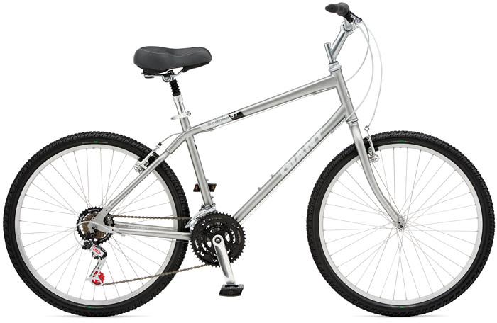 matching men s and women s giant sedona st comfort bikes